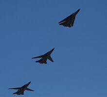 F-111 Formation by Daniel McIntosh