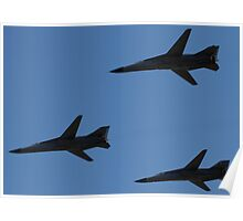 F-111 Formation Fly by Poster
