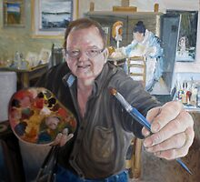 Self Portrait Finished by Ken Tregoning