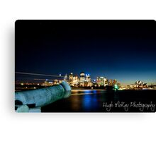 Night Canon Canvas Print