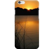 Tropical Belize Sunset at Lamanai Lagoon Paradise River iPhone Case/Skin