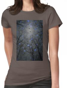 The Sight of the Stars Makes Me Dream (Geometric Stars Remix) Womens Fitted T-Shirt
