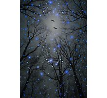 The Sight of the Stars Makes Me Dream (Geometric Stars Remix) Photographic Print