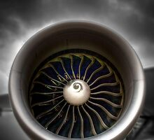 GE90 Engine with a little HDR by HKart