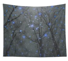 The Sight of the Stars Makes Me Dream (Geometric Stars Remix) Wall Tapestry