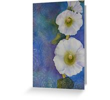 Blue Whimsy Greeting Card