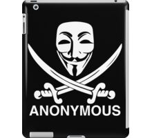 Anon Crossed Swords iPad Case/Skin