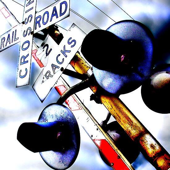 railroad crossing gates by brian gregory