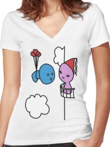 My Princess, I Missed You Women's Fitted V-Neck T-Shirt