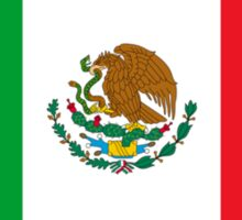 Mexico Flag Mexican Flag Sticker
