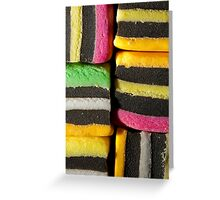 Allsorts of colours Greeting Card