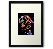 """""""To watch us dance is to hear our hearts speak"""" Framed Print"""