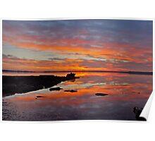 Tuggerah Lake. Sunrise.Australia. Poster