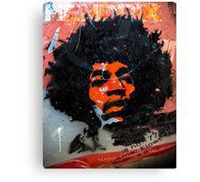 Jimmy Hendrix is Orange Canvas Print