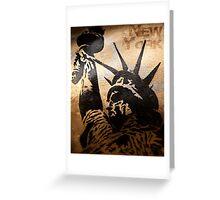 New York - Liberty Greeting Card