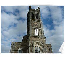 St Pauls Church  Honiton  Devon Poster