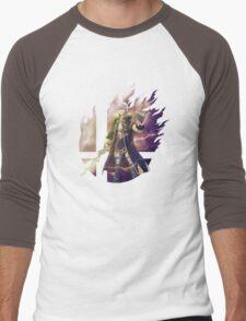 Smash Hype - Robin (Male) Men's Baseball ¾ T-Shirt