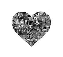 I Heart Disney Photographic Print
