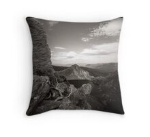 Lake Oberon Throw Pillow