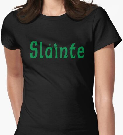 Slainte Womens Fitted T-Shirt