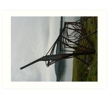 Ship builder memorial, Port Arthur, Tasmania Art Print