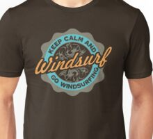 Keep Calm And Go Windsurfing Unisex T-Shirt