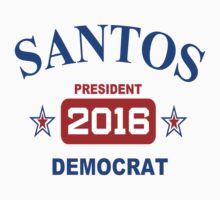 Santos for President 2016! One Piece - Long Sleeve
