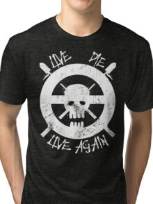 I live again Tri-blend T-Shirt