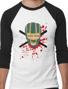 Kick-Ass Men's Baseball ¾ T-Shirt