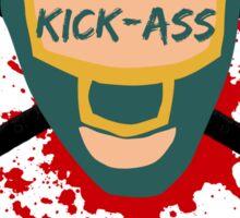 Kick-Ass Sticker