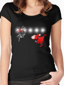 Beauty and the Beast, off Broadway  Women's Fitted Scoop T-Shirt