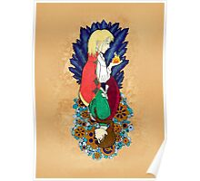 Howl's Moving Castle Diagonal/Parallel Poster