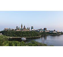 City of Ottawa at dusk Photographic Print