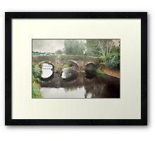 Bridge at Colyton Framed Print