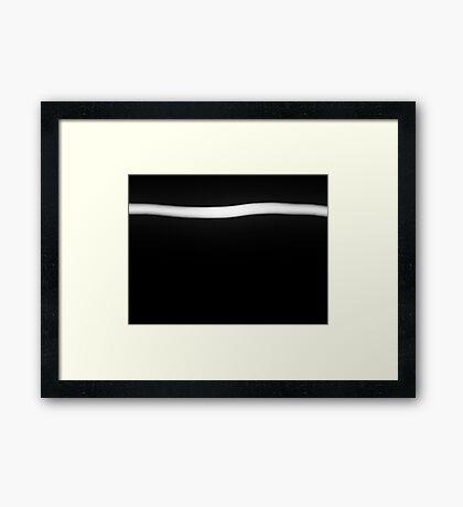 The Whole Point - Vanishing Framed Print