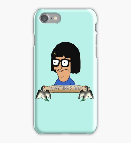 Everything is okay iPhone Case/Skin