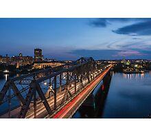 The bridge over water Photographic Print