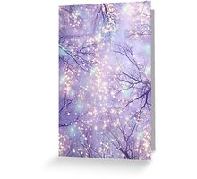Each Moment of the Year Has It's Own Beauty (Tree Silhouettes) Greeting Card
