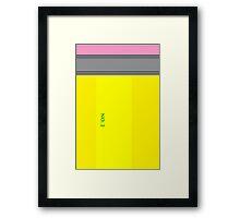 Pencil Framed Print