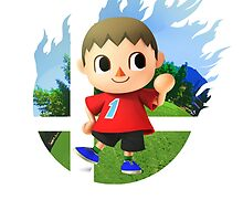Smash Hype - Villager by Jp-3