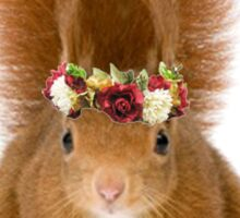 AGD - Squirrel Flower Crown Sticker