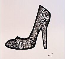 Rad Shoe Photographic Print