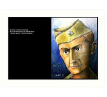 Postcard (1) from EJN Art Print
