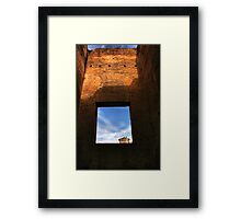 Ancient View Framed Print