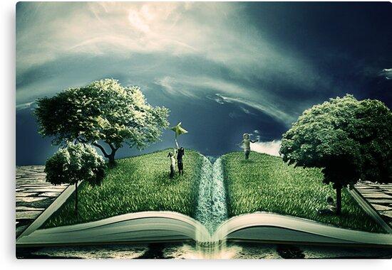 The Magic of Literature by Matteo Pontonutti