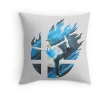 Smash Hype - Wii Fit Trainer Throw Pillow