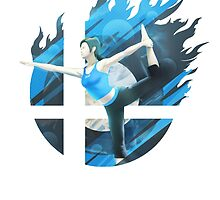 Smash Hype - Wii Fit Trainer by Jp-3