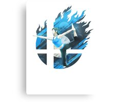 Smash Hype - Wii Fit Trainer Canvas Print
