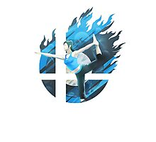 Smash Hype - Wii Fit Trainer Photographic Print