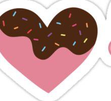I *heart* Ice Cream (& sprinkles!) Sticker